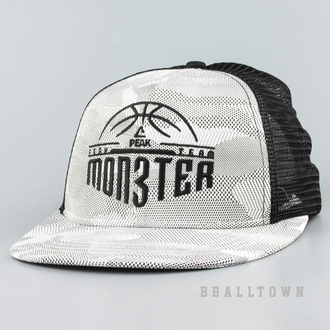 Peak Monster Series Snapbacks Black