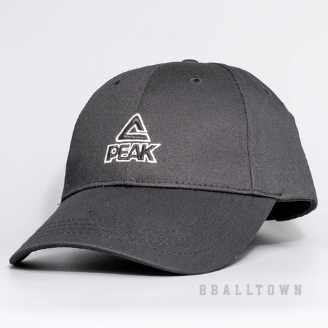 PEAK CLASSIC SPORTS CAP BLACK - M100010