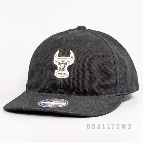 Mitchell & Ness Jock Strapback Chicago Bulls Black