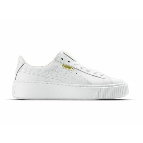 Puma Basket Platform Core White/White Women