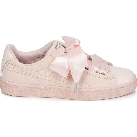 Puma Suede Heart Bubble Rose Women