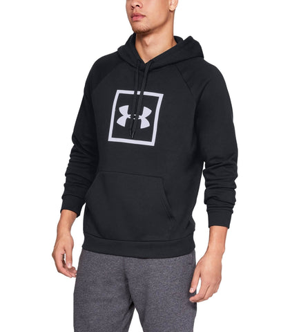Under Armour Rival Fleece Logo Hoodie Blk
