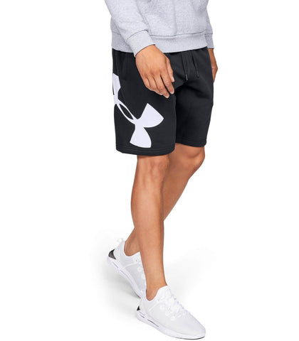 Under Armour Rival Fleece Logo Sweatshort Blk