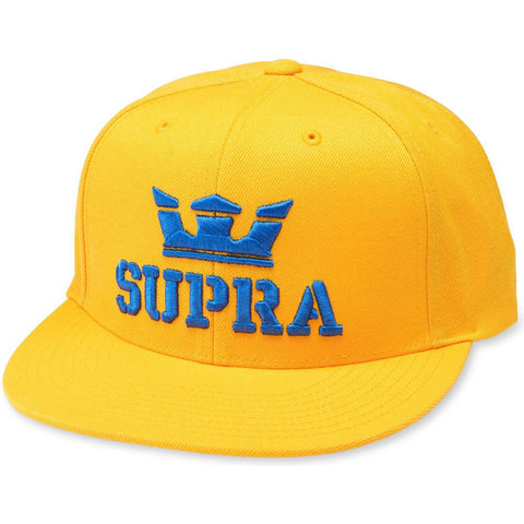 SUPRA ABOVEII SNAPBACK CAUTION/OCEAN