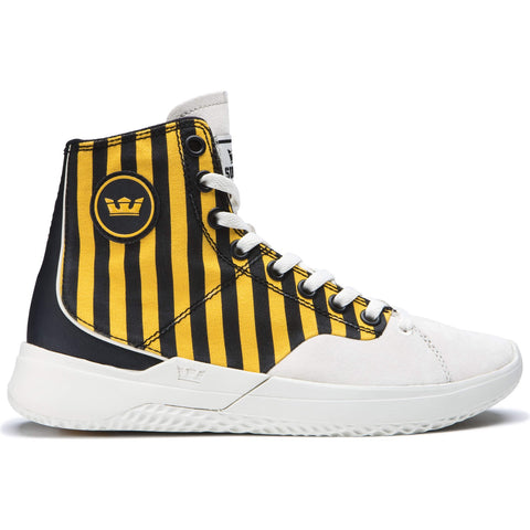 SUPRA STATIK CAUTION STRIPE-BONE