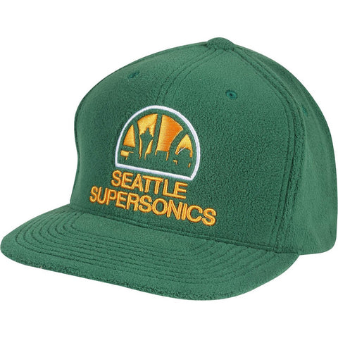 Mitchell & Ness Intl401 - Micro Fleece Snapback Seattle Supersonics Green