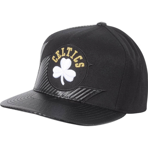 Mitchell & Ness Nba Kevlar Sharktooth Snapback Boston Celtics Black