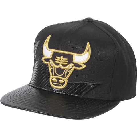 Mitchell & Ness Nba Kevlar Sharktooth Snapback Chicago Bulls Black