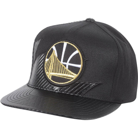 Mitchell & Ness Nba Kevlar Sharktooth Snapback Golden State Warriors Black
