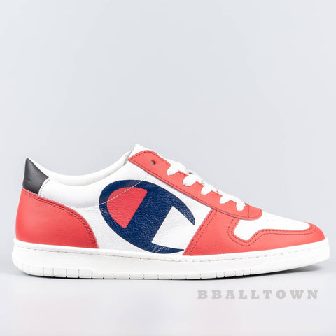 Champion Low Cut Shoe 919 Roch Wht/Red