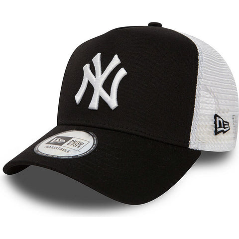 New Era MLB Šiltovka Clean Trucker 2 New York Yankees Black