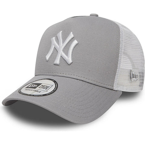 New Era MLB Šiltovka Clean Trucker 2 New York Yankees Grey