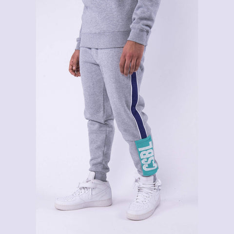 Cayler & Sons Black Label Wcww Sweatpants Htr Grey/Purple
