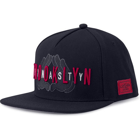Cayler & Sons White Label Jaynasty Cap Black/Red