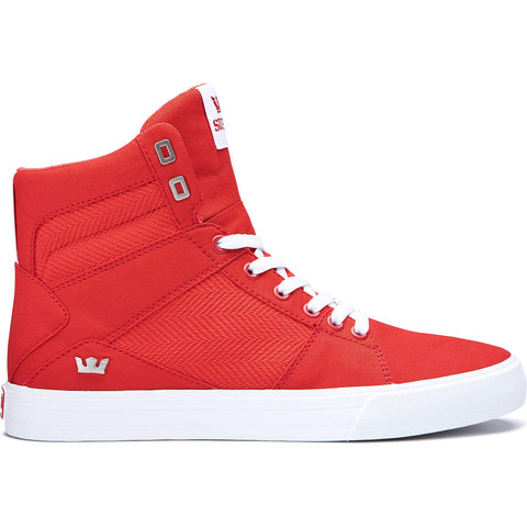 Supra Footwear Aluminum Risk Red-White