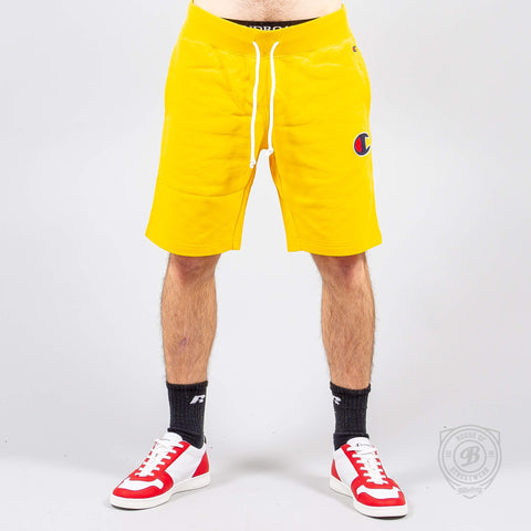 Champion Logo Bermuda Yellow