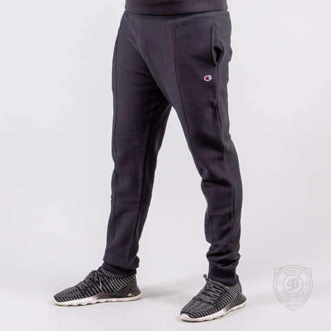 Champion Reverse Weave Rib Cuff Pants - Black