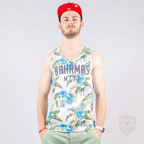 Mz72 Tank-Pinapple Tank Top White