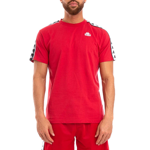 Kappa Banda Coen Slim T Shirt Red