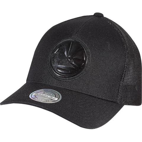Mitchell & Ness Zig Zag Trucker Golden State Warriors Black