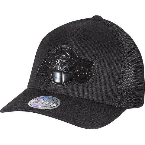 Mitchell & Ness Zig Zag Trucker La Lakers Black