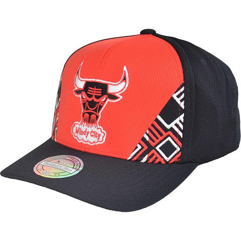 Mitchell & Ness Dna 110 Snapback Chicago Bulls Red/Black