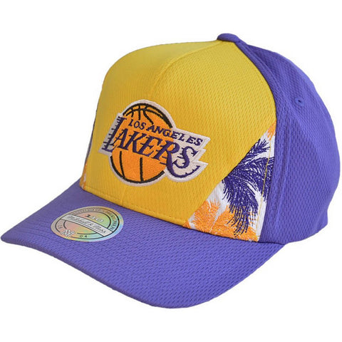 Mitchell & Ness Dna 110 Snapback La Lakers Yellow/Purple