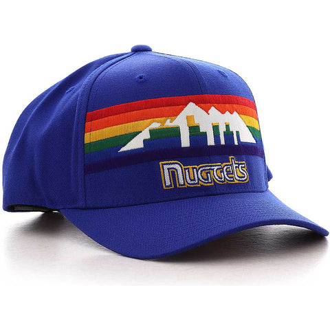 Mitchell & Ness Jersey Logo Snapback Denver Nuggets Royal