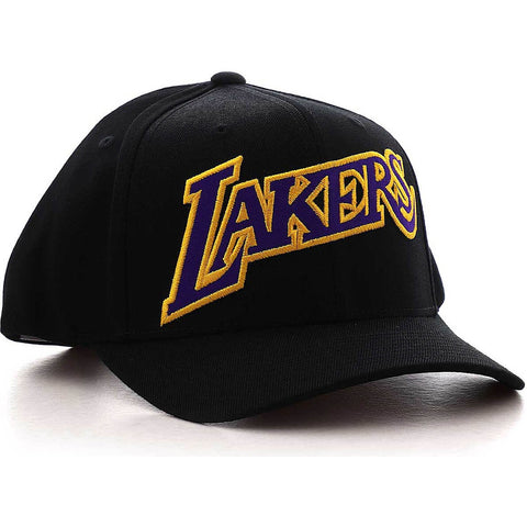 Mitchell & Ness Jersey Logo Snapback La Lakers Black