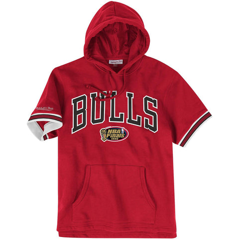 Mitchell & Ness Nba N&N French Terry Hoody Chicago Bulls - Red