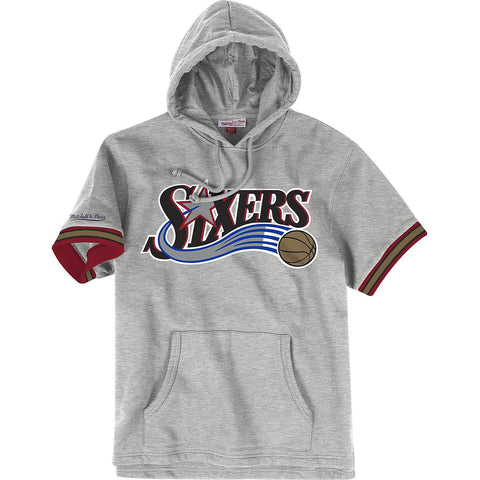 Mitchell & Ness Nba N&N French Terry Hoody Philadelphia 76Ers - Grey