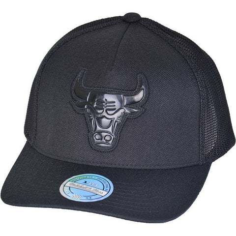 Mitchell & Ness Zig Zag Trucker Chicago Bulls Black