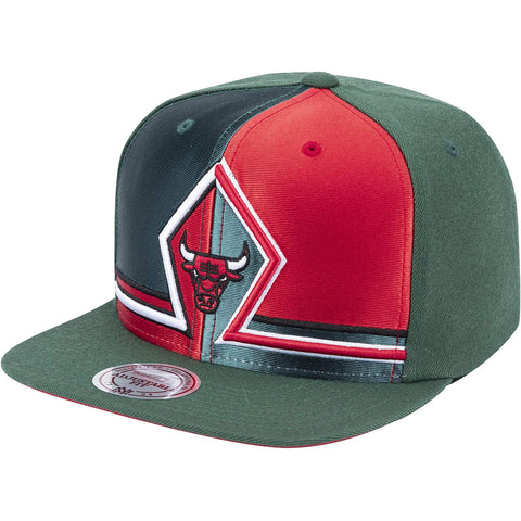Mitchell & Ness Green House Snapback Chicago Bulls Green