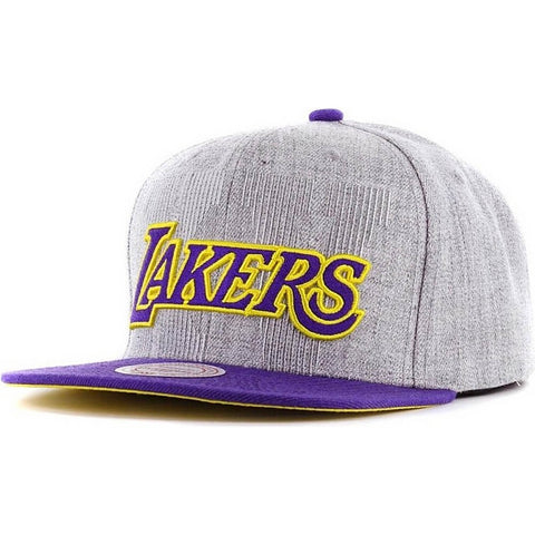 Mitchell & Ness La 16Th Snapback La Lakers Black