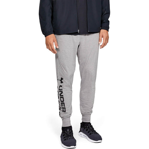 Under Armour Sportstyle Cotton Graphic Jogger Grey