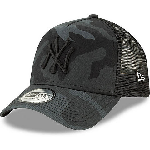 New Era Šiltovka 940 Af Trucker Mlb Camo Essential New York Yankees
