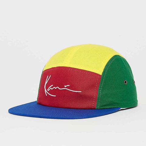 Karl Kani Signature Curved Cap Navy/Red/Yellow/Green/White