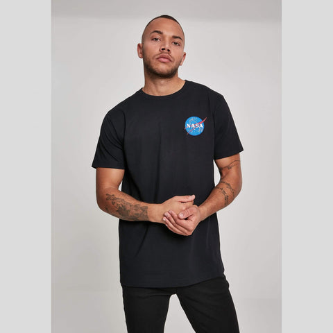 Mister Tee Nasa Logo Embroidery Tee Black