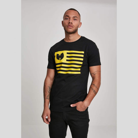 Wu-Wear Flag Tee Blk/Yellow