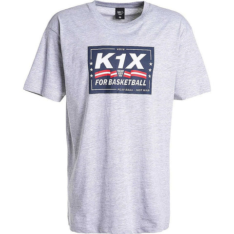 K1X Vote Tee Light Grey Heather