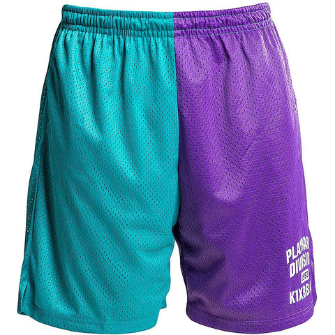 K1X Play Hard Division Mesh Shorts Royal Purple