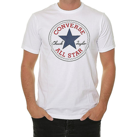 Converse Chuck Patch Tee White