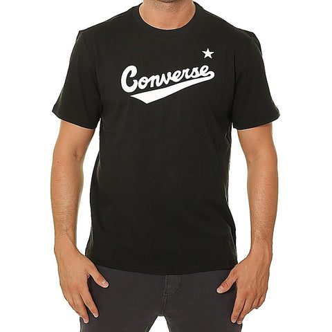 Converse Center Front Logo Tee Black