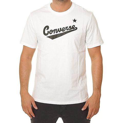 Converse Center Front Logo Tee White
