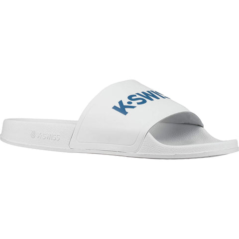 K-Swiss K-Slide White/Blue