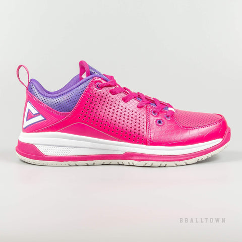 Peak Women Basketball Shoes Rose/Purple