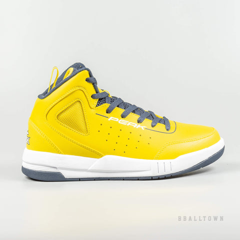 Peak Basketball Revolve Tech Shoes Gold/Blue