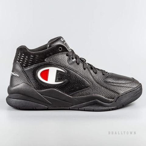 Champion Mid Cut Shoe Zone Mid Black