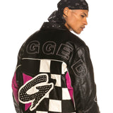 Grimey Wear Looter Cult Pu Leather Jacket Black
