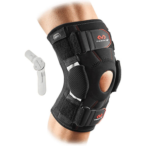 Mcdavid Knee Support Brace With Dual Disk Hinges [422] Black